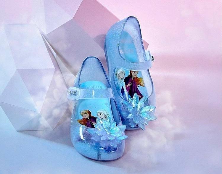 Sapatinhos para meninas Mini Melissa Frozen - Laranjeiras Kids - It Mãe