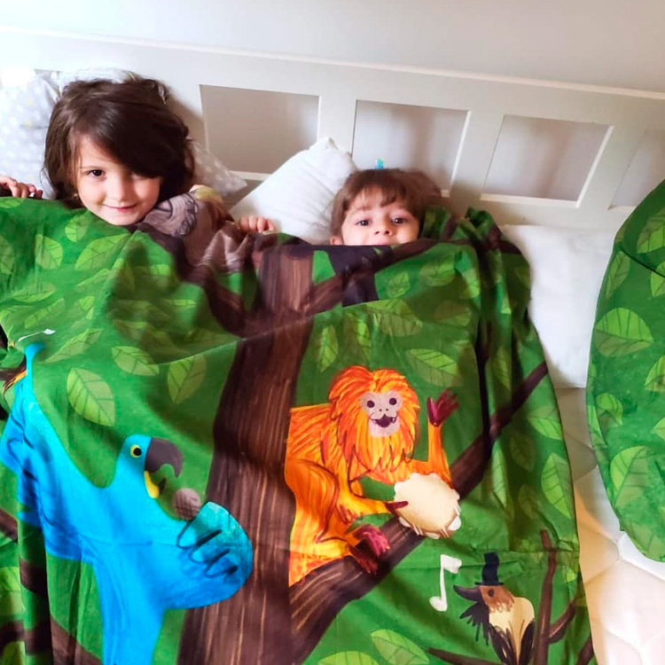 Roupa de cama divertida para criança Oohoo Kids It Mãe