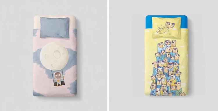 Cuidados com a roupa de cama das crianças Oohoo Kids It Mãe