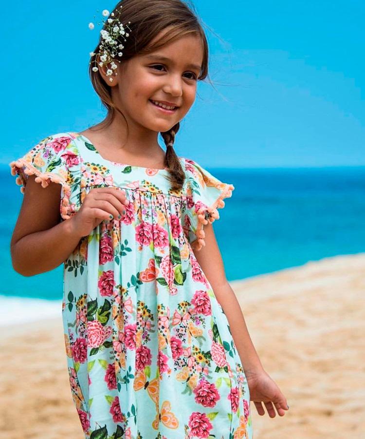 Looks girlie Saída de praia floral Lului Bikinis It Mãe