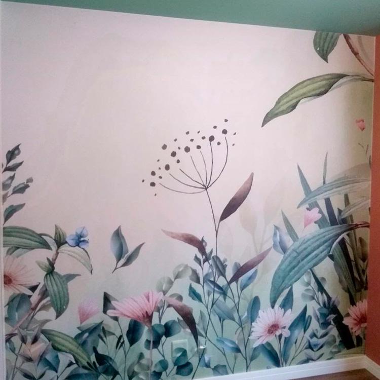Parede finalizada para o quarto infantil criativo Patrícia Bigonha Design de Interiores It Mãe