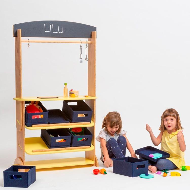 Brincar em casa com a bancada tema livre Lilu Design - It Mãe