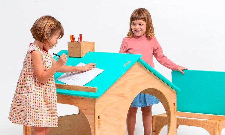 Brincar em casa com móveis divertidos Lilu Design - It Mãe