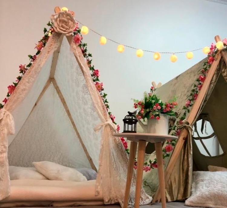Cabanas românticas - Fofurices Mimos e Festas - It Mãe