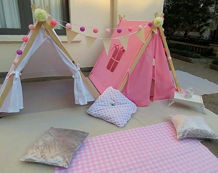 Cabanas dia dos namorados em casa - Fofurices Mimos e Festas - It Mãe