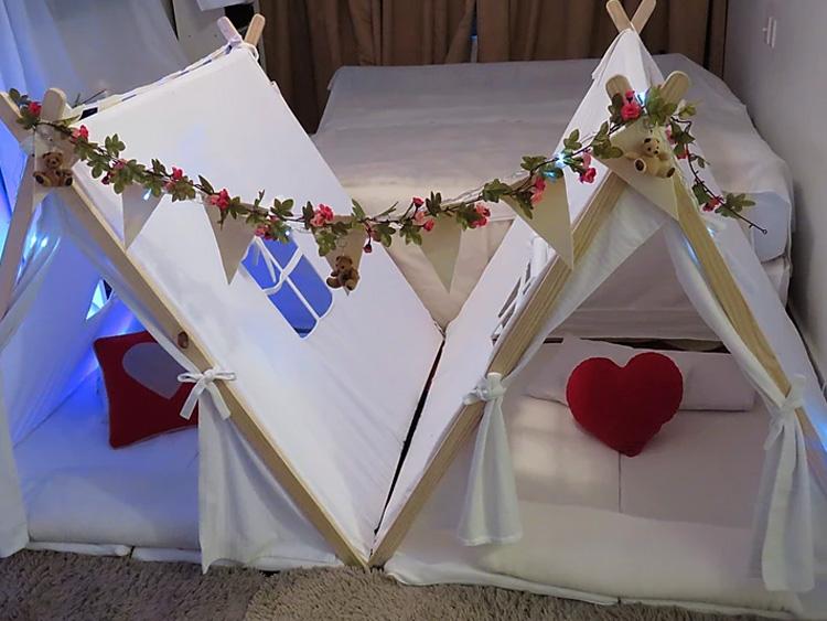 Cabana romântica Fofurices Mimos e Festas - It Mãe