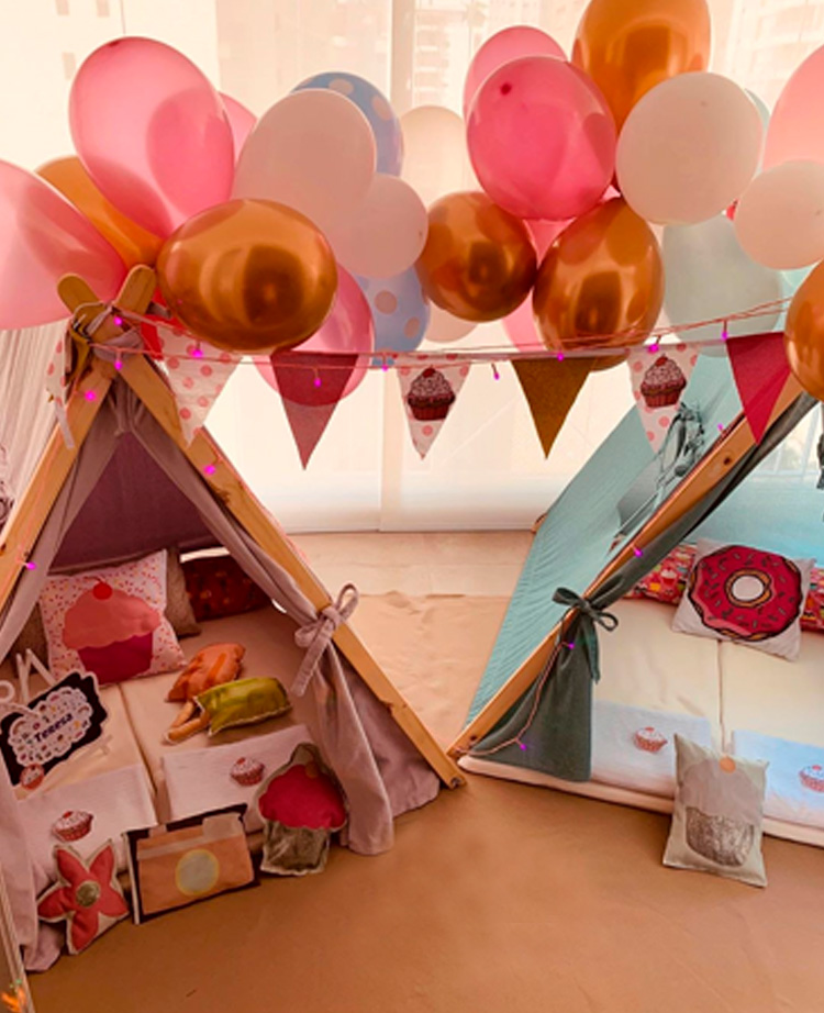 Cabanas para comemorar o Dia dos Namorados - Fofurices Mimos e Festas - It Mãe
