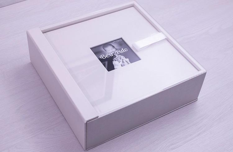 Como montar um fotolivro - caixa personalizada meufotolivro - It Mãe