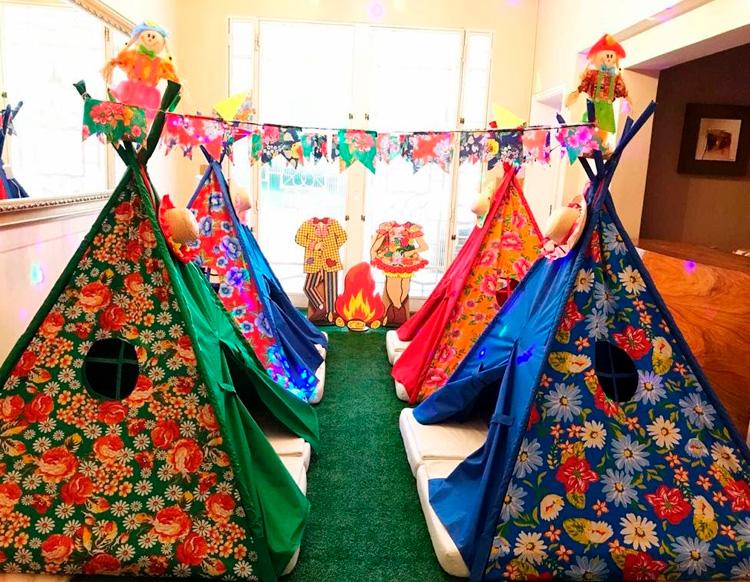 Festa do pijama junina Pijamas Party - It Mãe