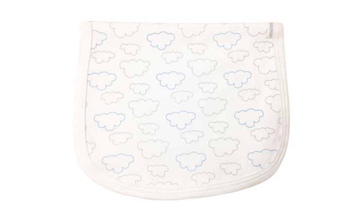 Paninho de boca nuvens - Enxoval do bebê - Baby Pima- It Mãe
