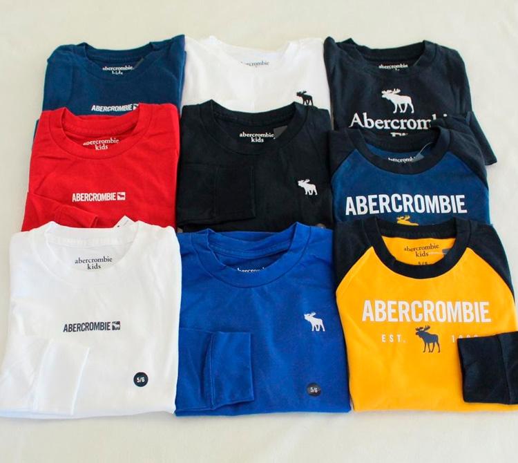 Camisetas abercrombie kids - My Baby Style Co - It Mãe