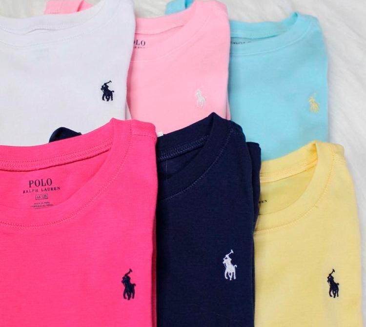 Camisetas para meina Polo Ralph Lauren - My Baby Style Co - It Mãe