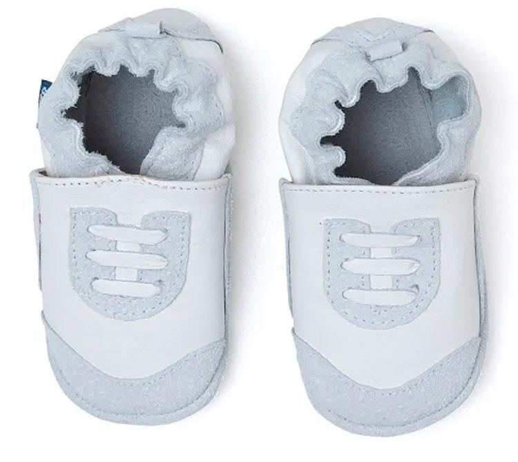 Pantufa tênis branco - Laranjeiras Kids - It Mãe