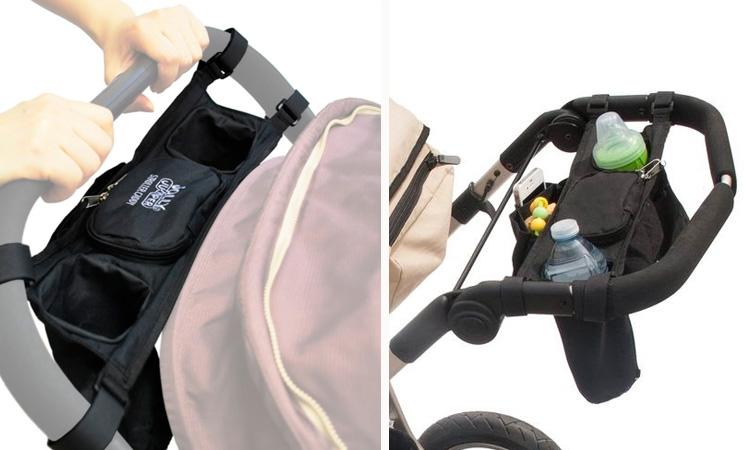 Porta trecos para carrinho Quintal do bebê - It Mãe