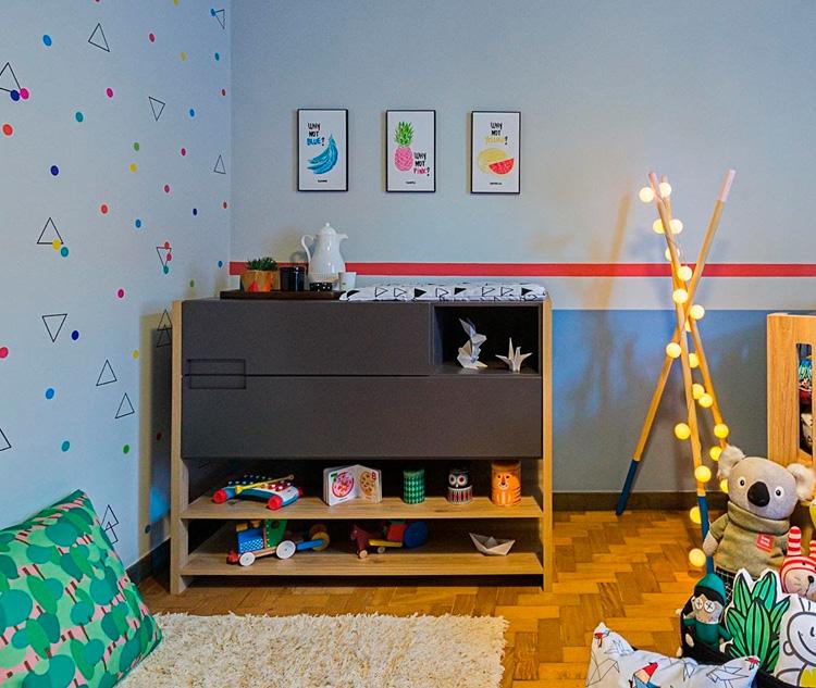 Como decorar um quarto infantil versátil Patrícia Bigonha Design de Interiores - It Mãe