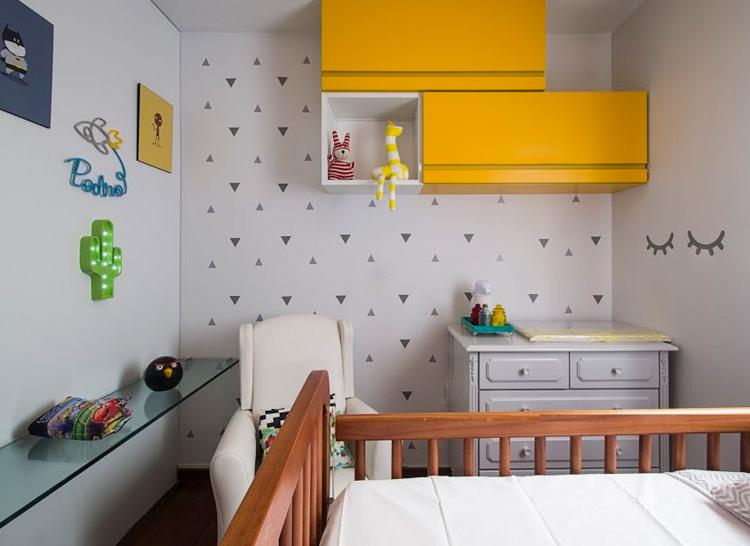 Quarto do bebê versátil Patrícia Bigonha Design de Interiores - It Mãe