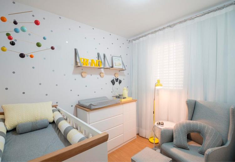 Quarto bebê menino versátil Patrícia Bigonha Design de Interiores - It Mãe