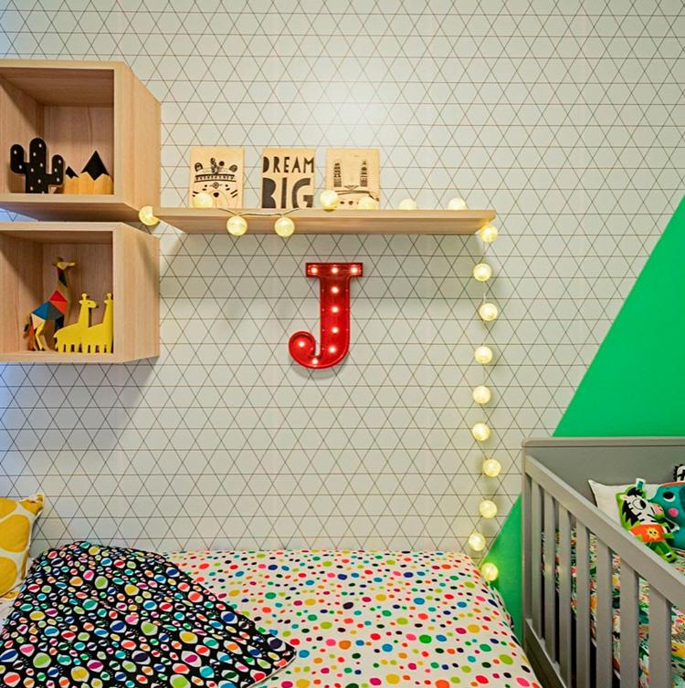 Quarto criança Patrícia Bigonha Design de Interiores - It Mãe
