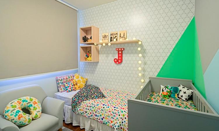 Quarto infantil versátil por Patrícia Bigonha Design de Interiores - It Mãe