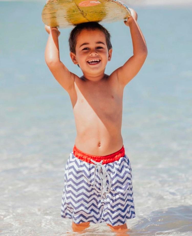 Bermuda d'água para praia Lului Bikinis - It Mãe