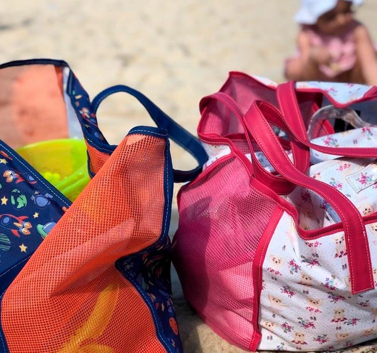 Bolsas de praia Jujuba - It mãe