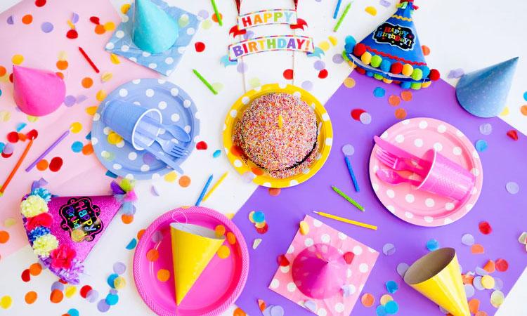 Decoração de mini festa It Mãe