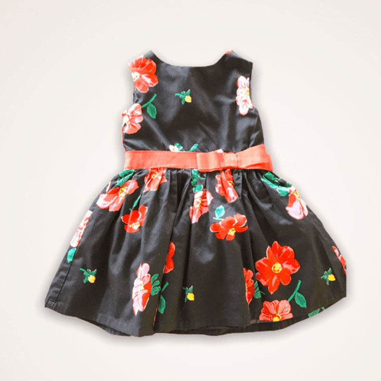 Vestido floreal Carter's Brechó Infantil Espicheii It Mãe