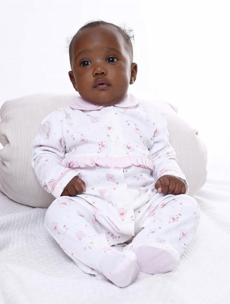 Conjunto rosa Baby Pima It Mãe