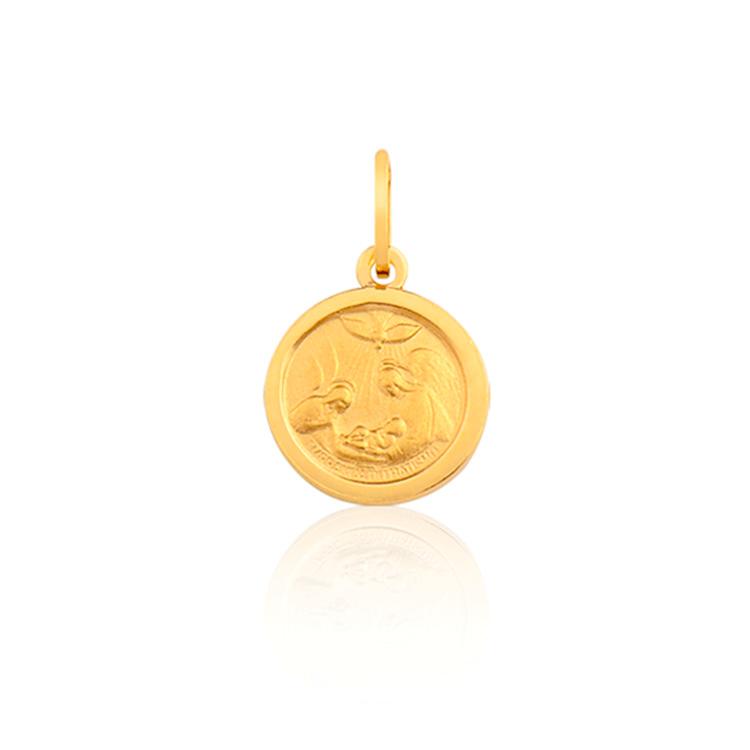 Presente afetivo Mini La Joie - medalha de batismo - It Mãe