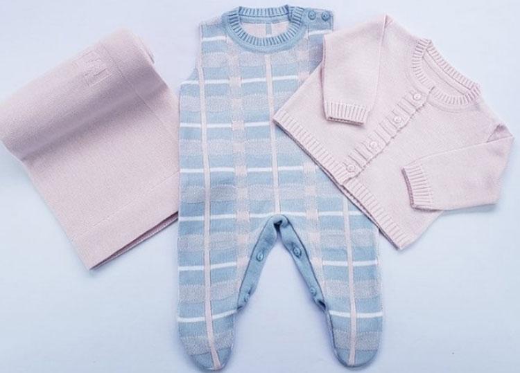 Kit Rosa Marbella Infantil It Mãe