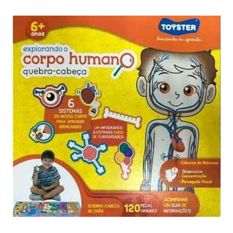Quebra-cabeça Corpo Humano brinquedos ideais para cada idade Góin Góin It Mãe