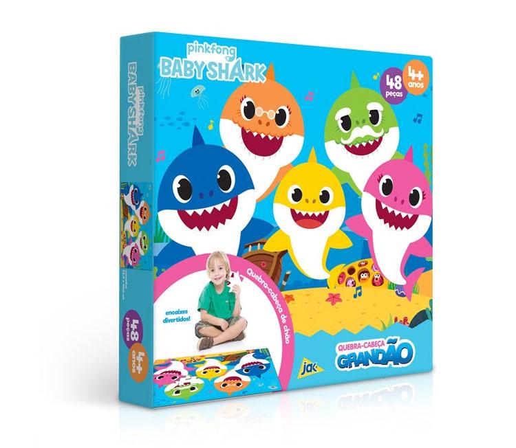 Quebra-cabeça baby shark It Mãe Góin Góin Brinquedos ideais para cada idade