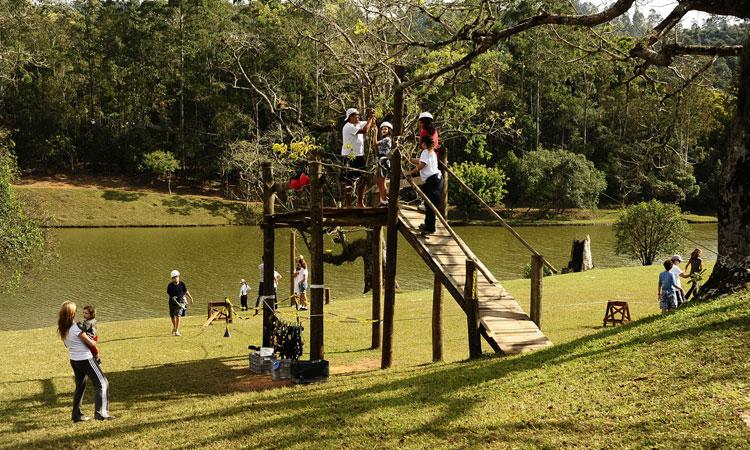Fazenda Dona Carolina Ecoturismo com as crianças Pequenos Exploradores It Mãe