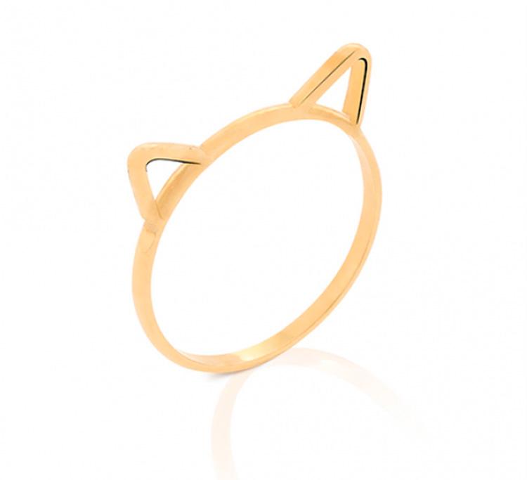 Anel com orelhas de gatinho Mini La Joie - It Mãe