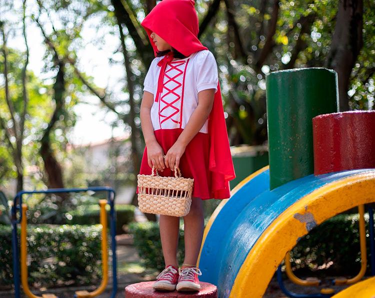 Rotina lúdica chapeuzinho vermelho Taioca - It Mãe