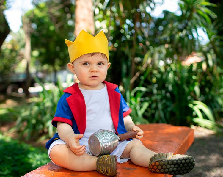Fantasia lúdica infantil príncipe Taioca - It Mãe