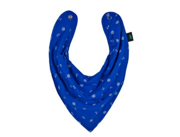 Bandana azul com âncoras Life Baby Store - It Mãe