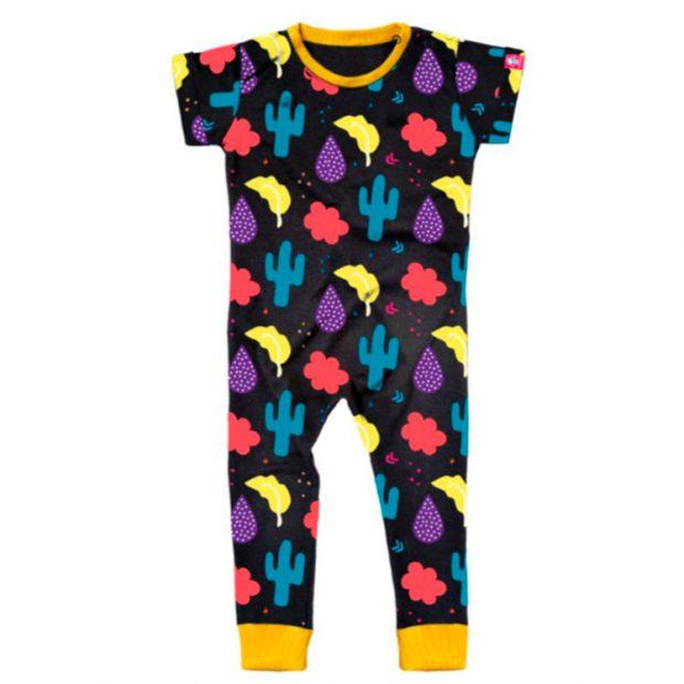 Looks para primavera Macacão Cactos Life Baby Store - It Mãe