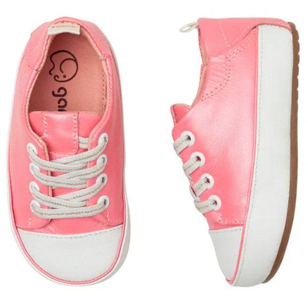 Tênis infantil gambo clássico glitter pink light Laranjeiras Kids - It Mãe