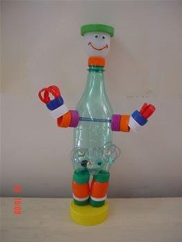 Como praticar inglês com brinquedos reciclados 4Little - It Mãe