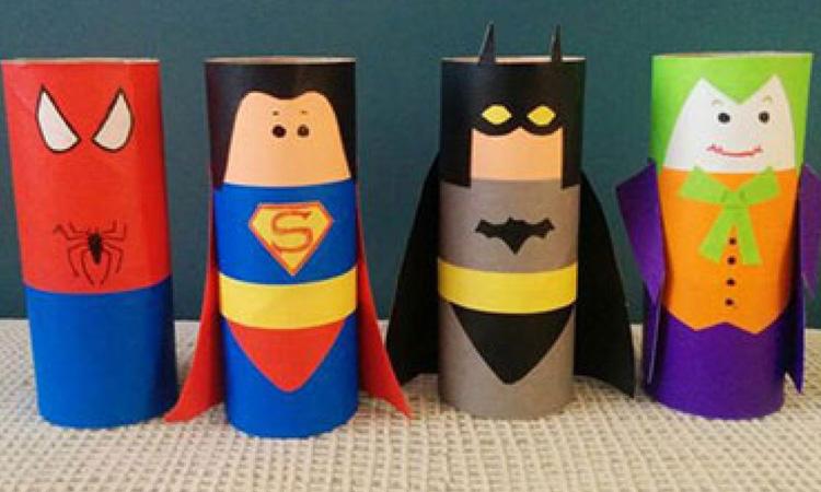 Ideias de brinquedos reciclados 4Little - It Mãe