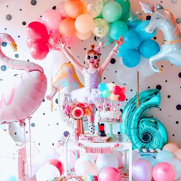 Animais mágicos decoração para o dia das crianças Rica Festa It  Mãe