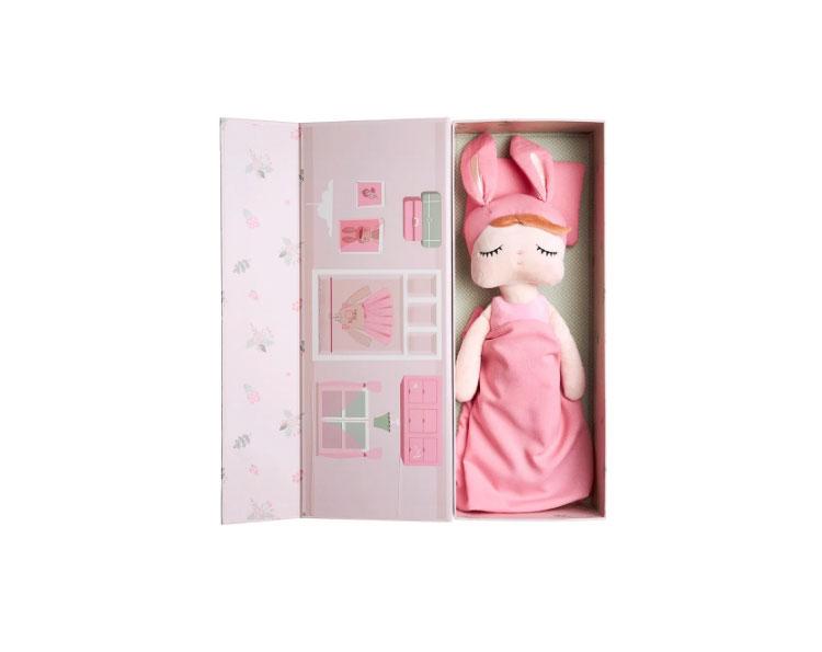 boneca de pano quintal do bebê it mãe