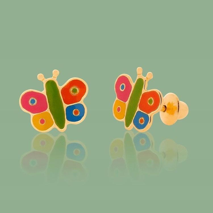 Brinco de borboleta dia das crianças Mini La Joie It Mãe