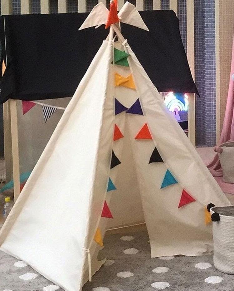 Cabana brincadeira de imaginação Góin Góin It Mãe