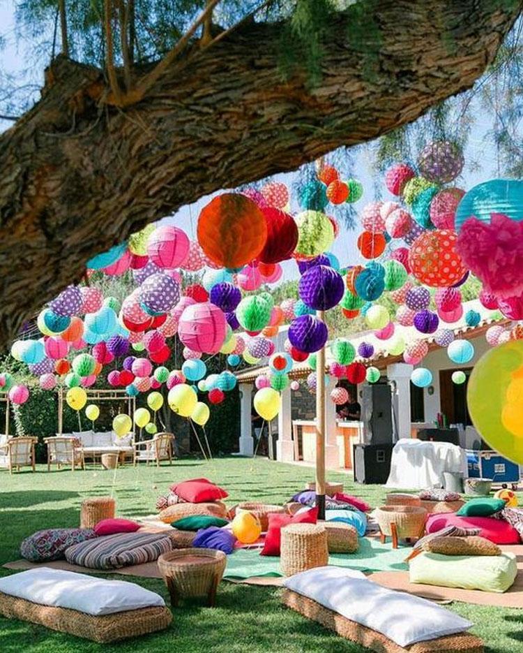 Festa ao ar livre decoração para o dia das crianças Rica Festa It Mãe