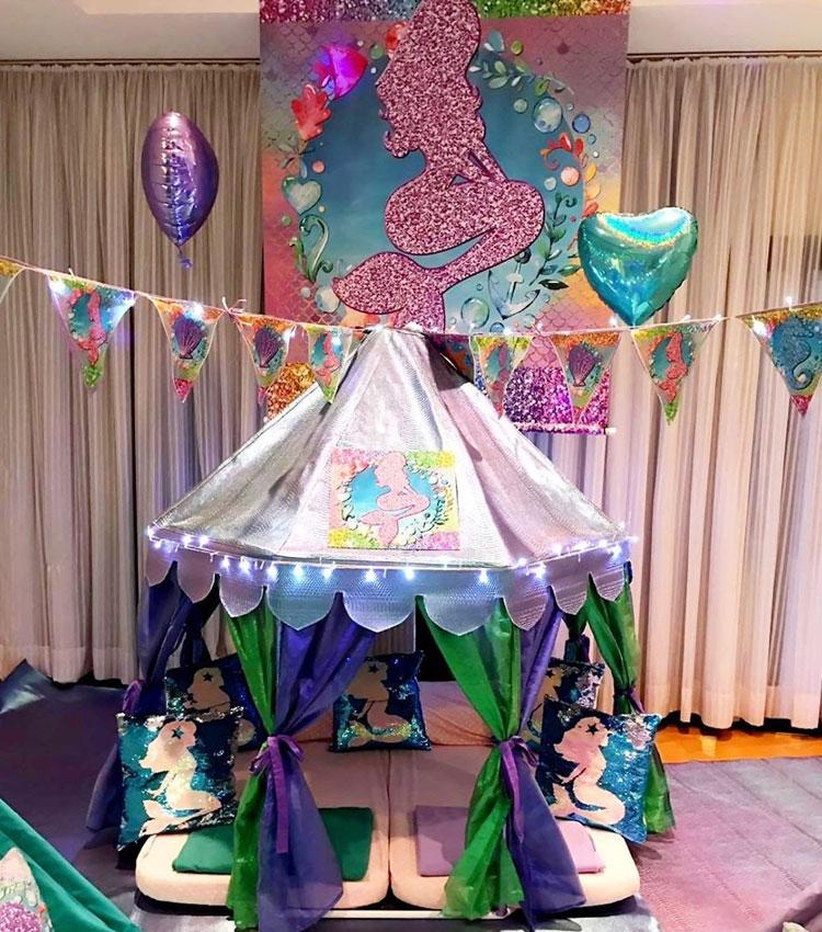 Festa pequena seria pijamas party it mãe dia das crianças