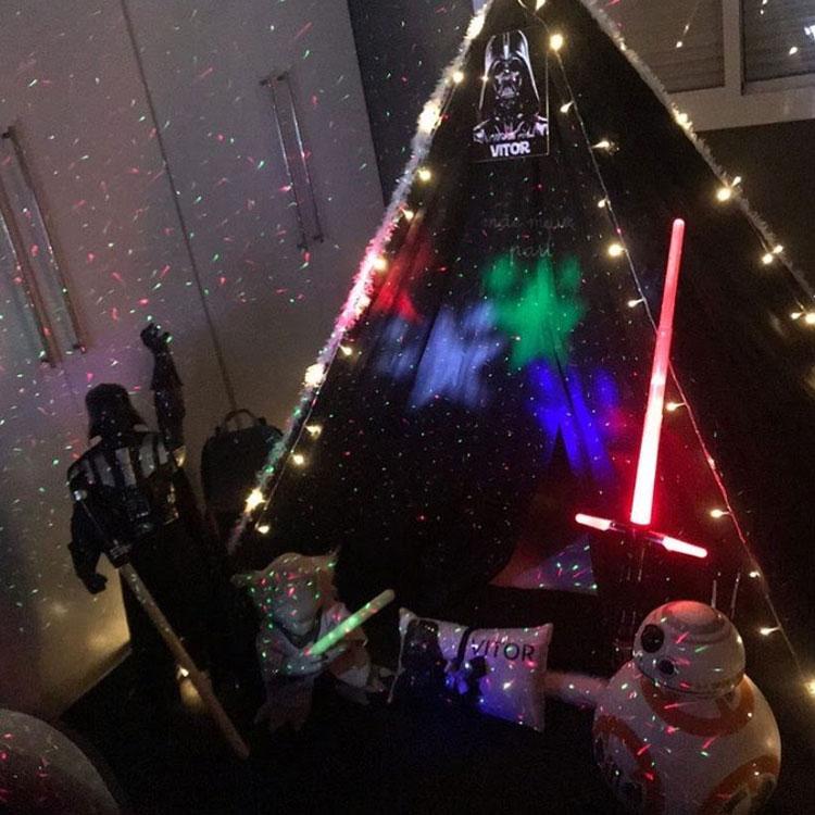 Festa Star Wars Mãe Me Quer Dia das crianças It mãe