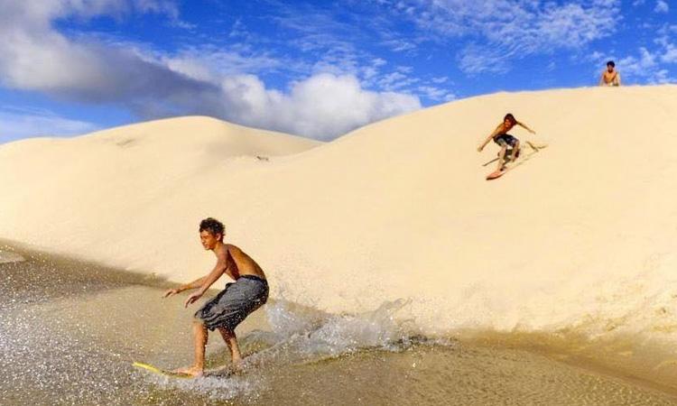 Sandboard Jericoacoara Agência Pequenos Exploradores - It Mãe