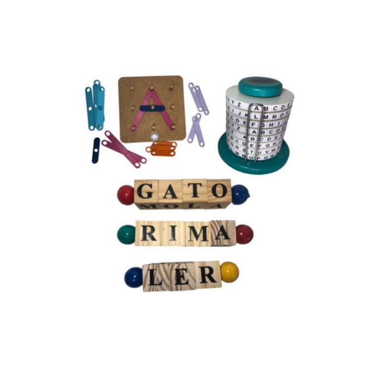 Kit alfabetização gemini jogos it mãe